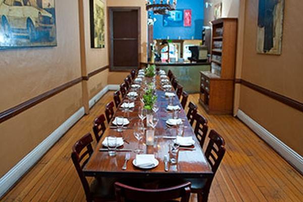 Photo of San Francisco event space venue Blue Plate