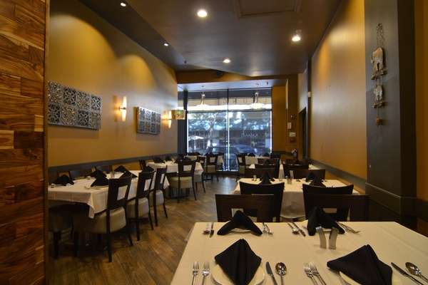 Photo of San Francisco event space venue Rasam's Modern Indian Cuisine's Main Dining Room