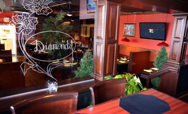 NYC / Tri-State venue Diamonds Restaurant