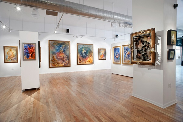 Photo of Chicago event space venue Jackson Junge Gallery