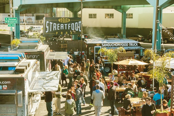 Photo of San Francisco event space venue SoMa StrEat Food Park