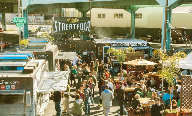 San Francisco venue SoMa StrEat Food Park
