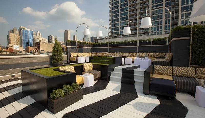 Photo of Chicago event space venue The Kensington Roof Garden and Lounge