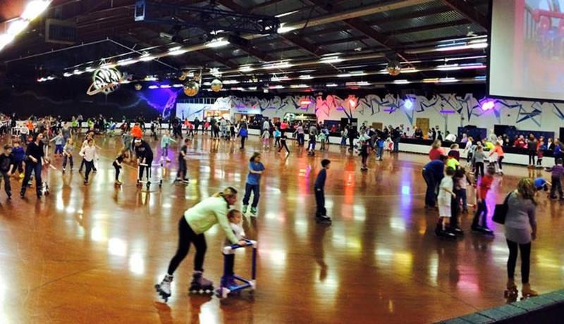 Photo of Chicago event space venue Orbit Skate Center