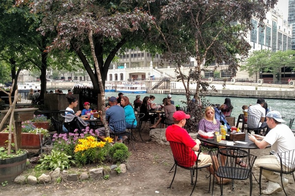 Photo of Chicago event space venue Cyrano's Cafe On The River Walk