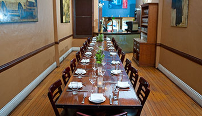 Photo of San Francisco event space venue Blue Plate
