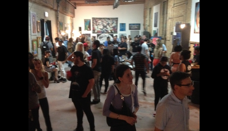 Photo of Chicago event space venue The Black Couch Studio and Gallery