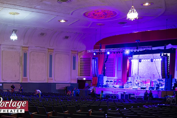 Photo of Chicago event space venue Portage Theatre