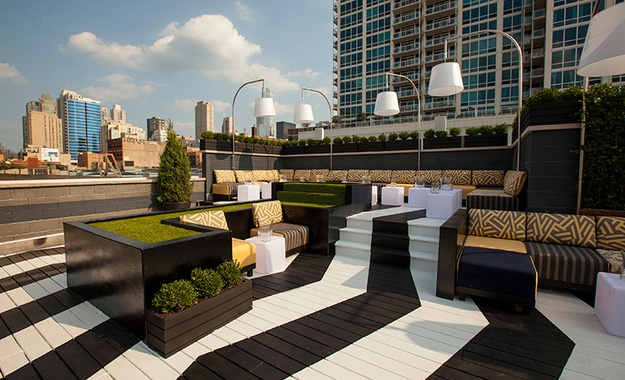 Chicago venue The Kensington Roof Garden and Lounge