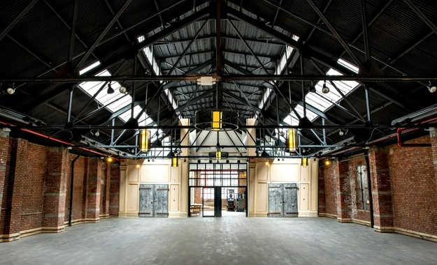 NYC / Tri-State venue Historic Metal Factory Renovated Into A Unique Space